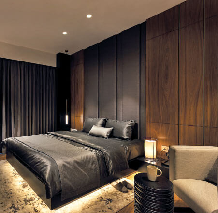 Master Bedroom-residential flats in gurgaon